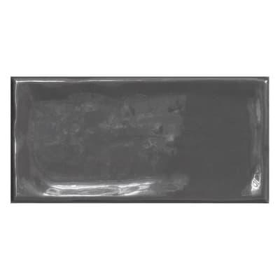 Piastrella Alfaro L 7.5 x H 15 cm antracite
