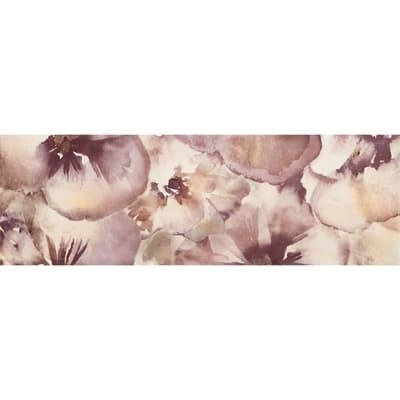Decoro Primavera L 60 x H 20 cm viola