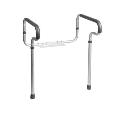 Barra d'appoggio per wc/bidet in alluminio L 80 cm