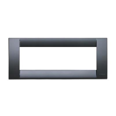 Placca VIMAR Idea 6 moduli grigio grafite