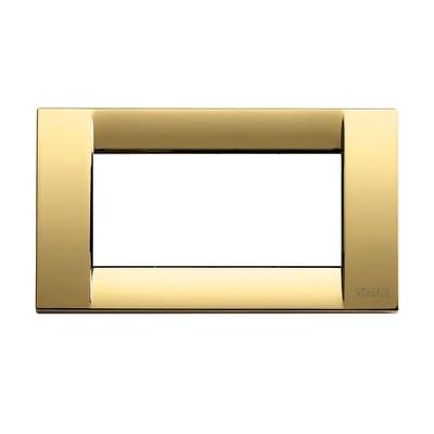 Placca VIMAR Idea 4 moduli oro lucido