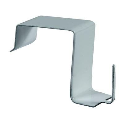 Supporto da serramento bianco lucido, 4 pezzi