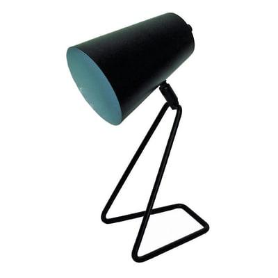 Lampada da comodino Design Moeta nero, in metallo, INSPIRE