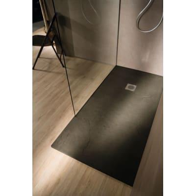 Piatto doccia ultrasottile resina Elements 70 x 130 cm ...