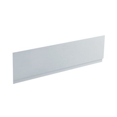 Pannello di rivestimento vasca frontale Egeria acrilico bianco L 150 x H 50 cm