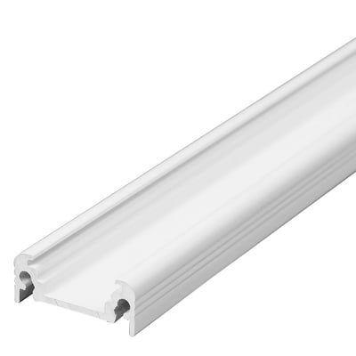 Profilo Slim per strisce led, in metallo, grigio / argento, 2 m