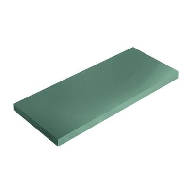Mensola Spaceo L 56 x P 15.5 cm, Sp 1.8 cm verde