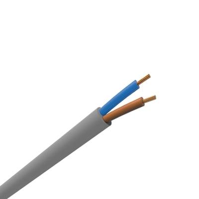 Cavo elettrico 2 fili x 10 mm² vendita al metro grigio
