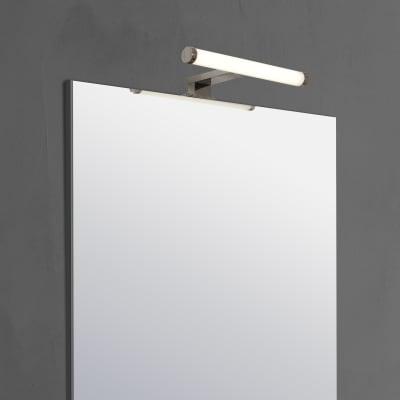 Applique moderno Solar con kit multi attacco LED integrato cromo, in plastica, 30x8.8 cm, INSPIRE