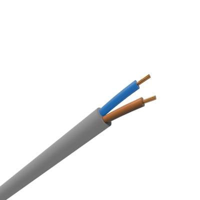 Cavo elettrico 2 fili x 6 mm² vendita al metro grigio