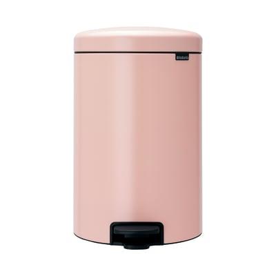 Pattumiera a pedale rosa 20 L