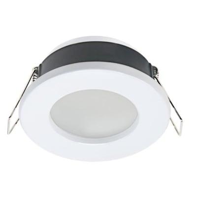 Ghiera per faretto da incasso tondo Lecco in alluminio, bianco, diam. 7 cm 7xGU10 MAX0W IP20 INSPIRE 1 pezzi