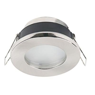Ghiera per faretto da incasso tondo Lecco in alluminio, grigio, diam. 7 cm GU10 MAX0W IP20 INSPIRE 1 pezzi