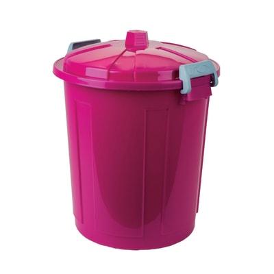 Pattumiera rosa 50 L