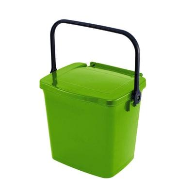 Pattumiera Max  manuale verde 5 L