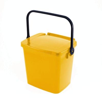 Pattumiera giallo 5 L