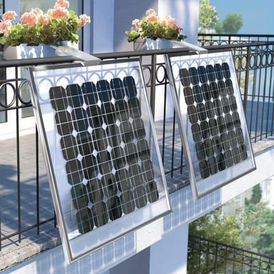 Fotovoltaico fai da te Balcone fioriera 160 W