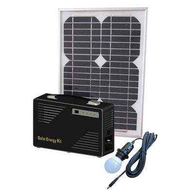 Kit pannello solare con luce PESAC-I-10/100W 10 W
