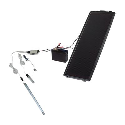 Kit pannello solare con luce PETPS 205 TUP 15 W