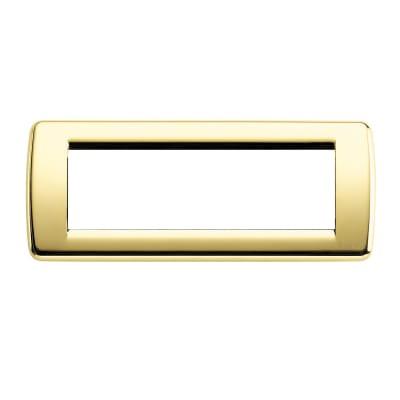 Placca VIMAR Idea 6 moduli oro lucido
