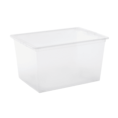 Contenitore C-Box L 55 x H 30.5 x P 38.5 cm trasparente