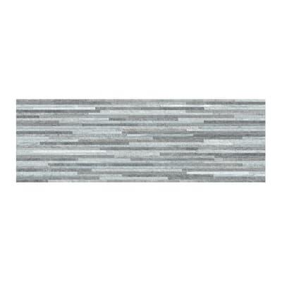 Piastrella per rivestimenti Kintay 20 x 60 cm sp. 9.3 mm grigio