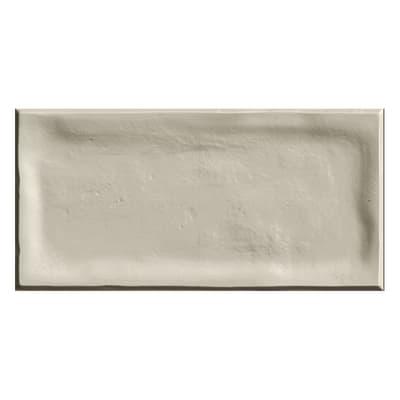 Piastrella Alfaro L 7.5 x H 15 cm beige