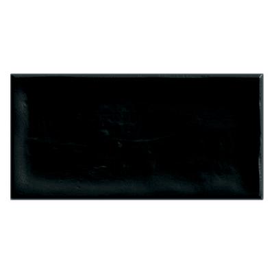 Piastrella Alfaro L 7.5 x H 15 cm nero
