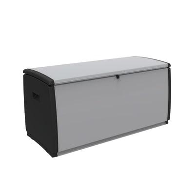 Cassone Spaceo Cool L 120 x H 57 x P 54 cm nero e grigio