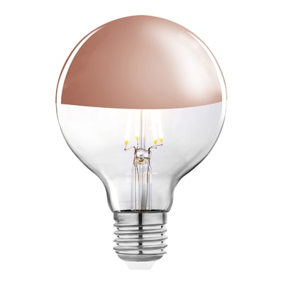 Lampadina LED E27 globo bianco caldo 5.5W = 600LM (equiv 48W) 360° LEXMAN