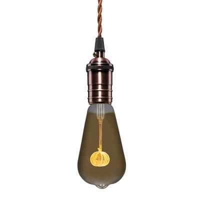 Lampadina Filamento LED E27 edison bianco caldo 3.5W = 250LM (equiv 25W) 360° LEXMAN