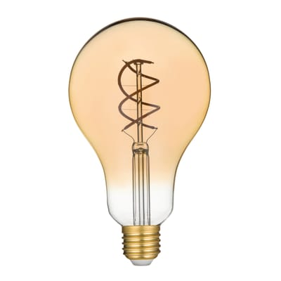 Lampadina Filamento LED E27 standard bianco caldo 5W = 250LM (equiv 25W) 360° LEXMAN