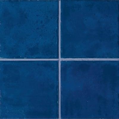 Piastrella Jolie H 10 x L 10 cm blu