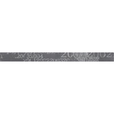 Listello Sirio L 4 x H 50 cm antracite