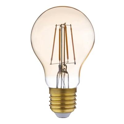 Lampadina LED filamento E27 standard bianco caldo 3.5W = 300LM (equiv 28W) 360° LEXMAN