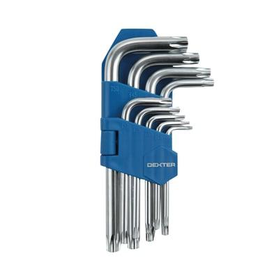 Set di chiave a brugola torx DEXTER 9 pezzi