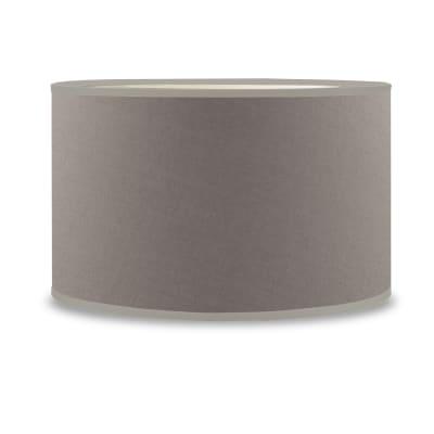 Paralume per lampada da tavolo personalizzabile  Ø 35 cm tortora in teletta Inspire