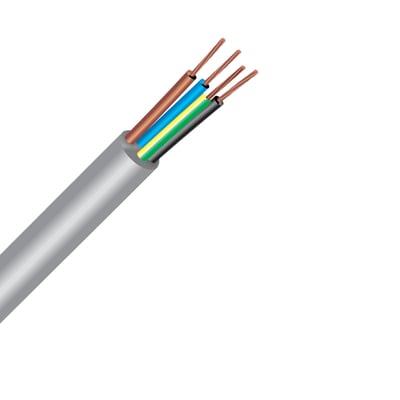 Cavo elettrico LEXMAN x 1,5 mm² Matassa 10 m grigio