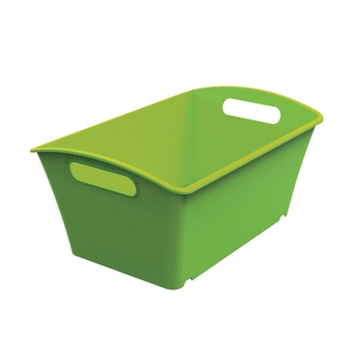Cesta Q-In Box 1.5 L colori L 17.8 x P 11.3 x H 9.1 cm assortiti