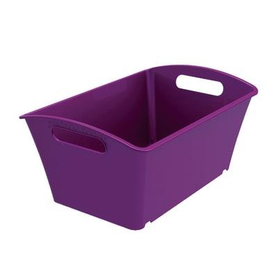 Cesta Q-In Box  5 L colori L 29.2 x P 19.2 x H 13.1 cm assortiti