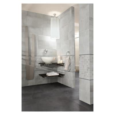 Mosaico Beton Silver H 30 x L 30 cm grigio