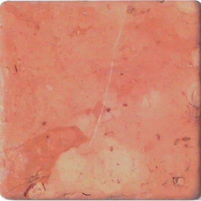 Pietra irregolare Marmo Perlino 10 x 10 cm rosa