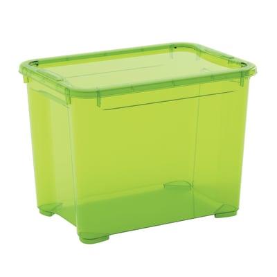 Contenitore T-box L 38 x H 28.5 x P 26.5 cm verde