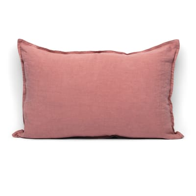 Cuscino Lina rosa 60x40 cm