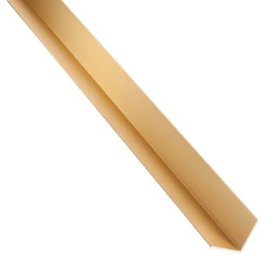 Profilo angolo STANDERS in alluminio 1 m x 1.1 cm oro