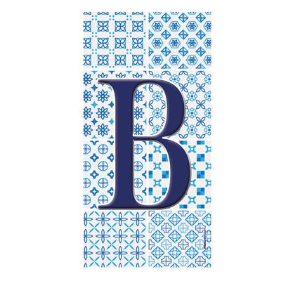 Numero Arabesque B , 7.5 x 15 cm