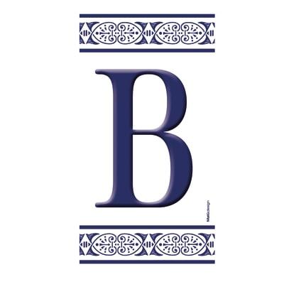 Lettera Greca B , 7.5 x 15 cm