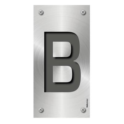 Lettera Metal B , 0.75 x 1.5 cm