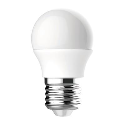 Lampadina LED E27 sferico bianco caldo 3W = 249LM (equiv 25W) 220° LEXMAN