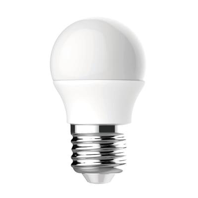 Lampadina LED E27 sferico bianco naturale 3W = 249LM (equiv 25W) 220° LEXMAN